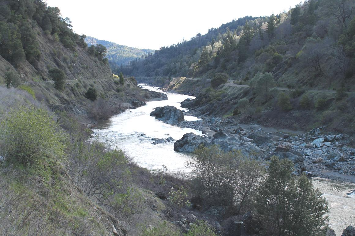 Approx. 2 miles of Eel River frontage
