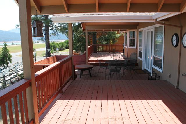 Full covered deck