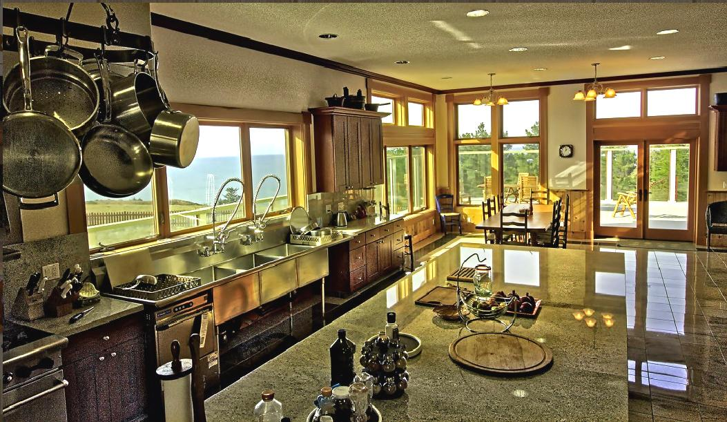 Kitchen to views
