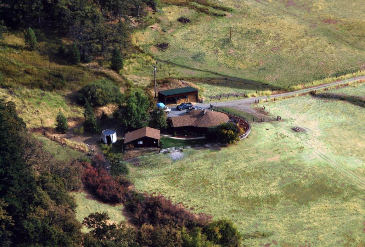 Aerial of the Homes