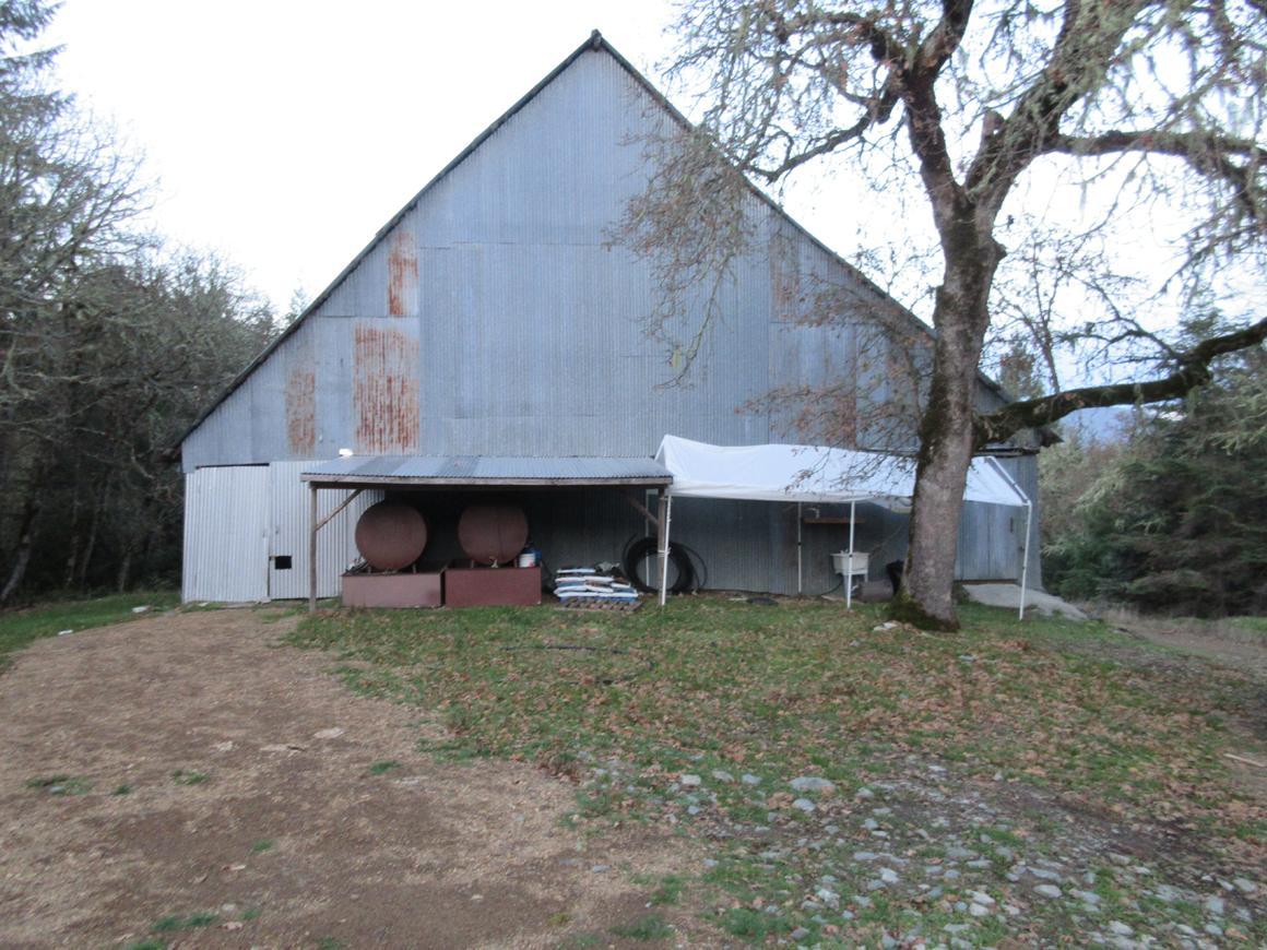 2 Story metal barn