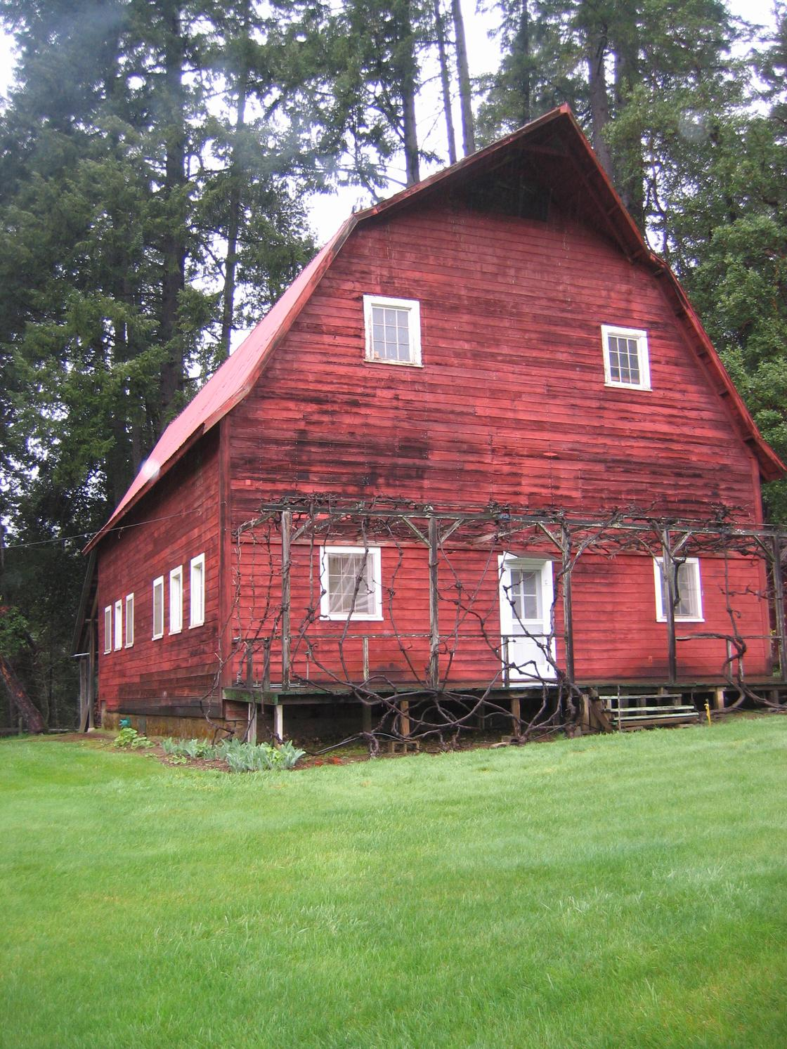 Iconic red barn 2nd home